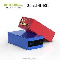 SMSL SK10 DSD256 XMOS AK4490EQ DAC HIFI EXQUIS PCM USB Optische Coaxiale OTG Desktop Decoder SK 10 met Afstandsbediening sanskriet 10-in Digitaal naar analoog Omvormer van Consumentenelektronica op