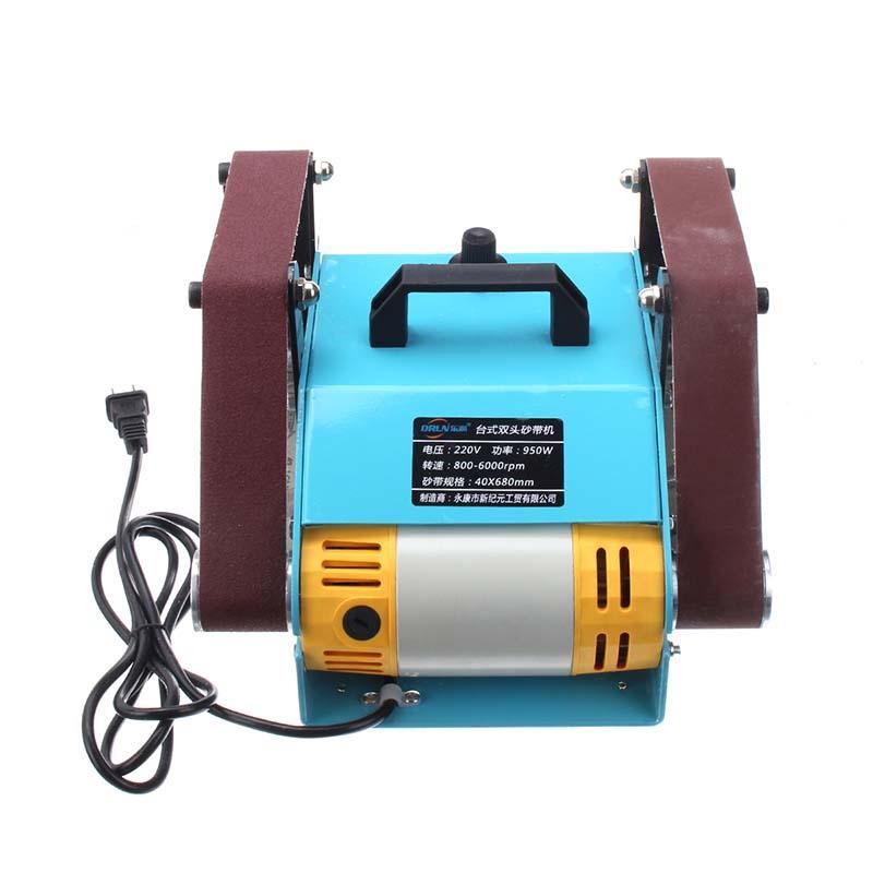 ALLSOME 2pcs Abrasive Sanding Belts Sanding Paper For HT2423 Sander - No Includes SANDER MACHINE +