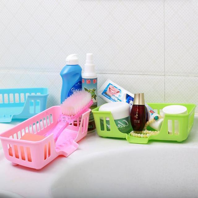 Creative Kitchen Sink Drain container basket sponge bath soap ...