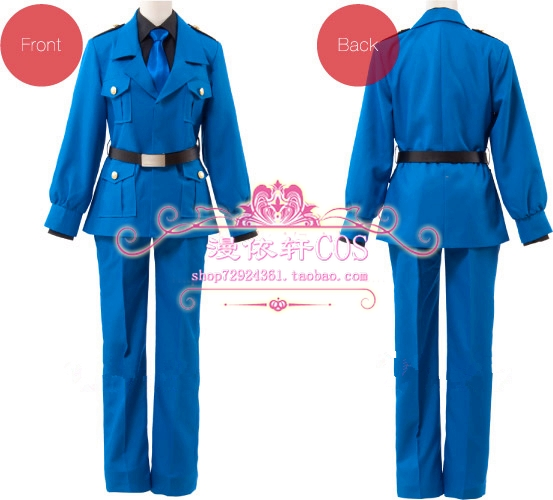 2015 Special Offer Freeshipping Real Freeshipping Adult Unisex Uniform Cloth Modal Axis Powers Hetalia Italy Cosplay