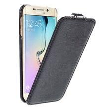 Роскошные Текстуры Вертикальный Флип Кожа Case для Samsung Galaxy S6 Edge G925/S6 G920/S6 Edge Plus G928 Бесплатная Доставка