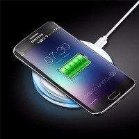 Cargador inalámbrico para Samsung Galaxy S3 S4 S5 mini nota 2 3 4 cargador inalámbrico Qi carga pad Dock caso teléfono accesorio