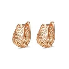 Распродажа, золотые серьги-кольца для женщин, CC серьги, модное ювелирное изделие, серьги в подарок, 21E18K-40