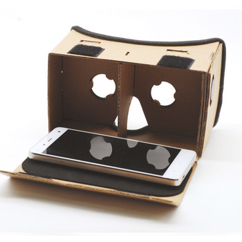 Light Castle Google Cardboard Style Virtual Reality VR BOX II Glasses For 3.5 - 6.0 inch Smartphone Glass for iphone for samsung 5