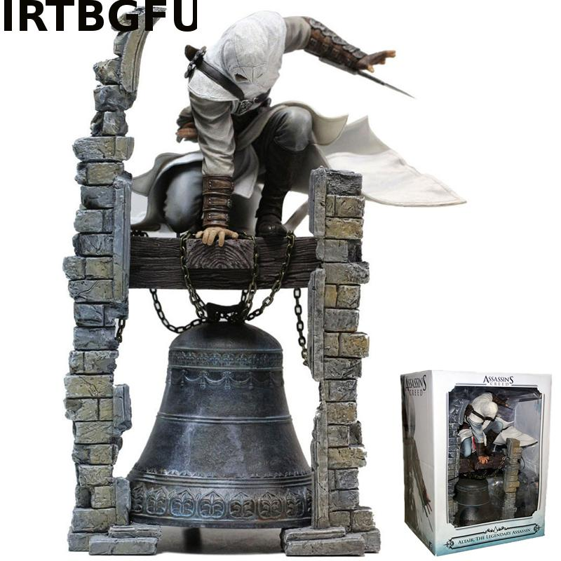 28cm Assassins Creed Altair Ibn-La Ahad Edward action & toy figures cartoon figure PVC Model Collection