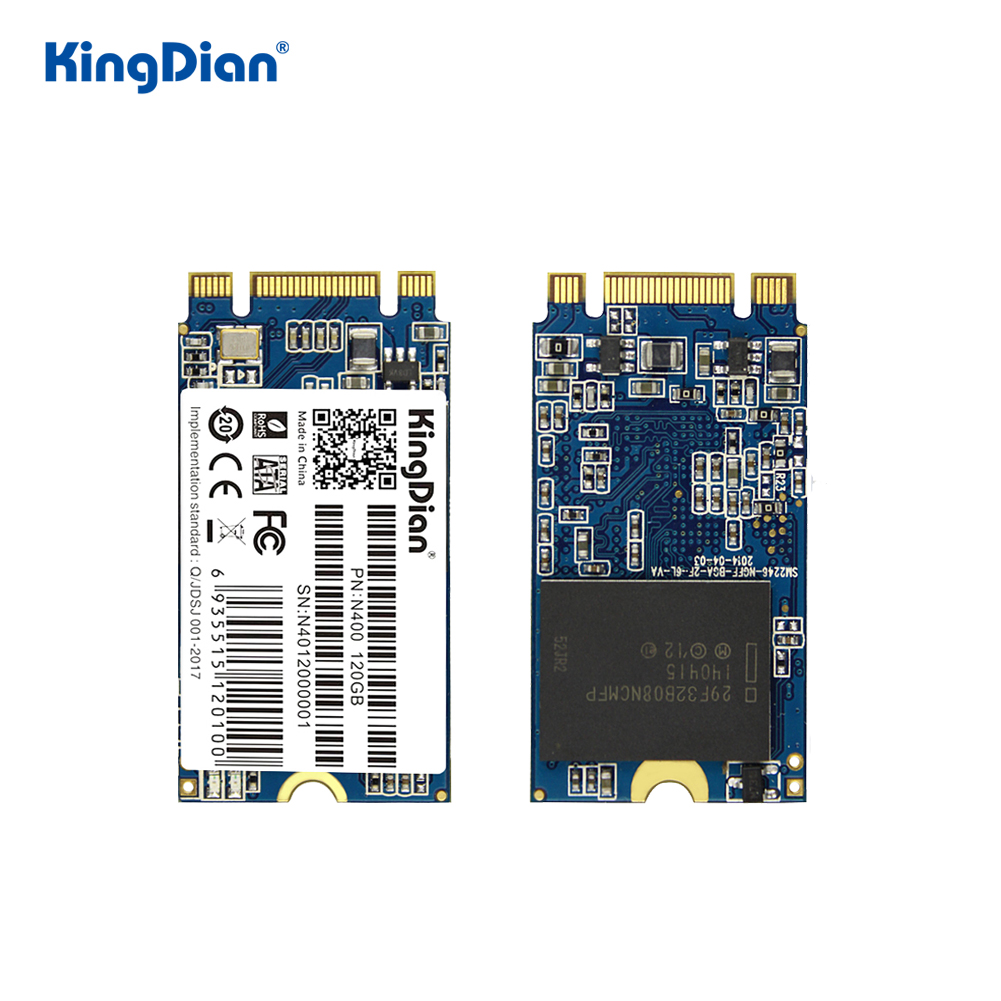 KingDian SSD M2 120gb 240gb 512GB 1TB SSD SATA M.2 2242 32gb 64gb Solid State Drive Hard Disk For Laptop Jumper 3 Pro