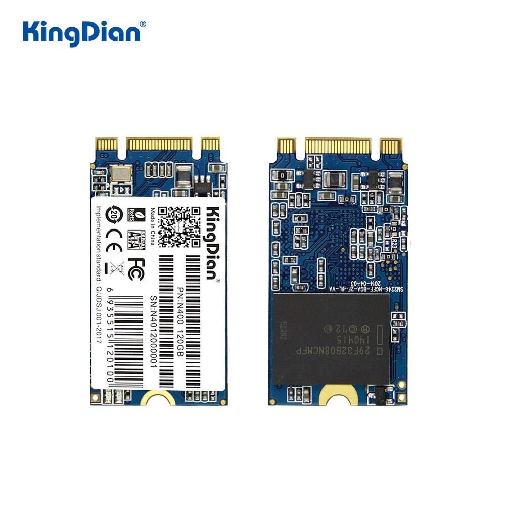 KingDian SSD M2 120gb 240gb SSD SATA NGFF M.2 2242 gb 32gb 64gb unidad de estado sólido de disco duro saltador 3 pro prestigio 133