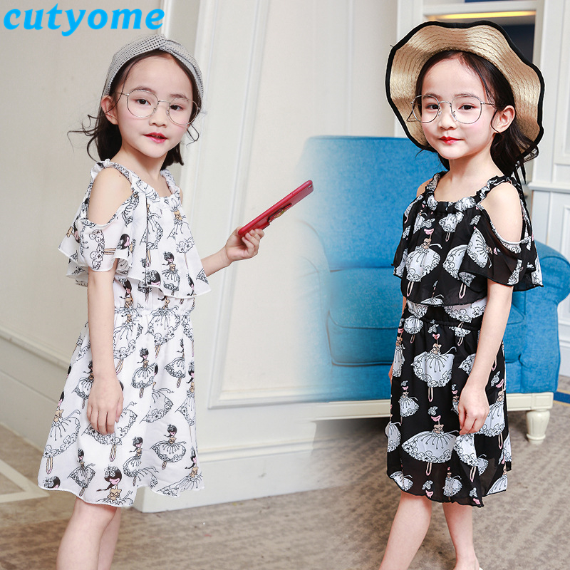teenage girls chiffion dress02