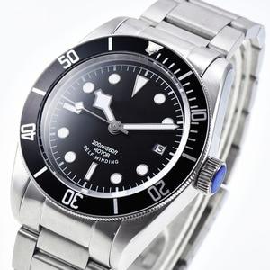 Image 3 - 2019 Corgeut למעלה מותג גברים מכאני שעון אוטומטי עמיד למים אופנה יוקרה נירוסטה זכר שעון Relogio Masculino