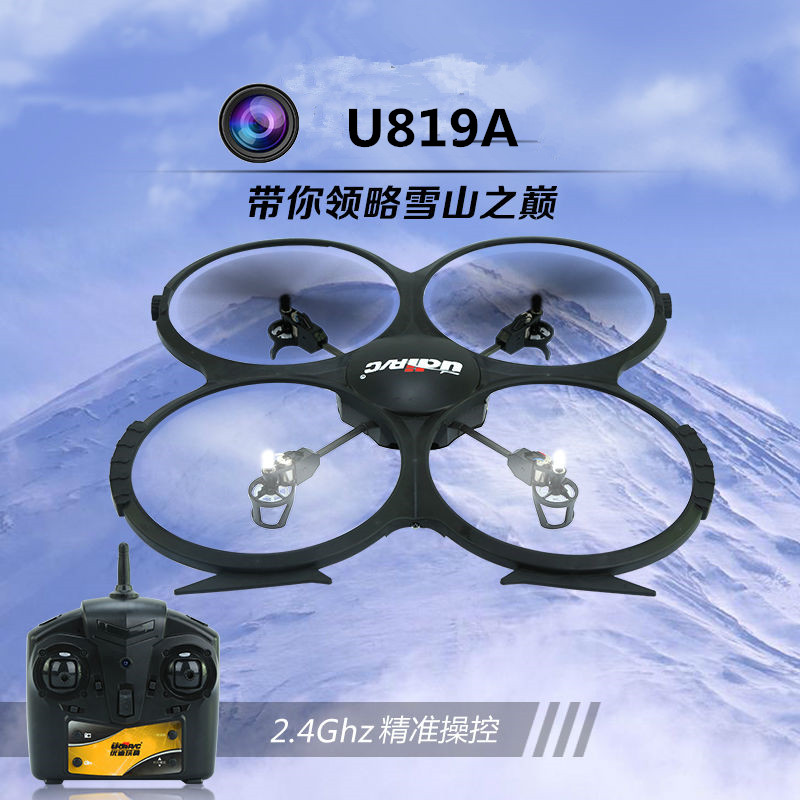 RC helicopter U819A 2.4Ghz 4CH 6-Axis Gyro RC Quadcopter UFO Drone with 2.0 or 5.0MP HD Camera IMAGE Mode 2 Wifi 3D Roll VS V666 free shipping hot sell rc helicopter k400 ufo drone 2 4ghz 4ch remote control rc 6 axis gyro 3d quadcopter vs jxd385 x800