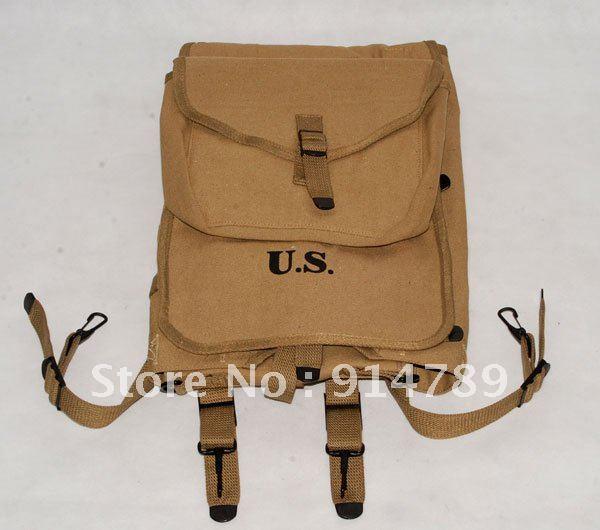 Második világháború US ARMY M1928 HAVERSACK KNAPSACK - Jelmezek