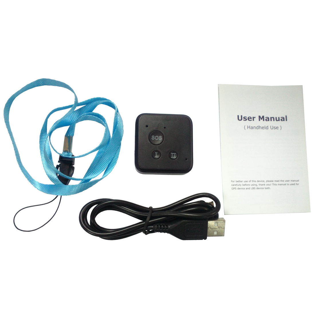 Intelligent GPS locator dual-use real-time high-definition street SOS rescue standby 15 days tracker