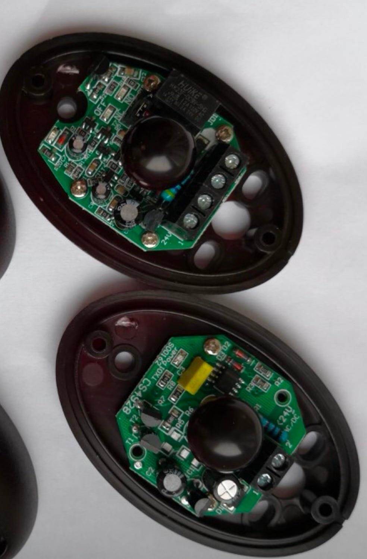 12-24V IP65 Automated Gate Safe Infrared Detector Sensor/ Swing /Sliding/Garage Gate / Door Safety Infrared Photocells