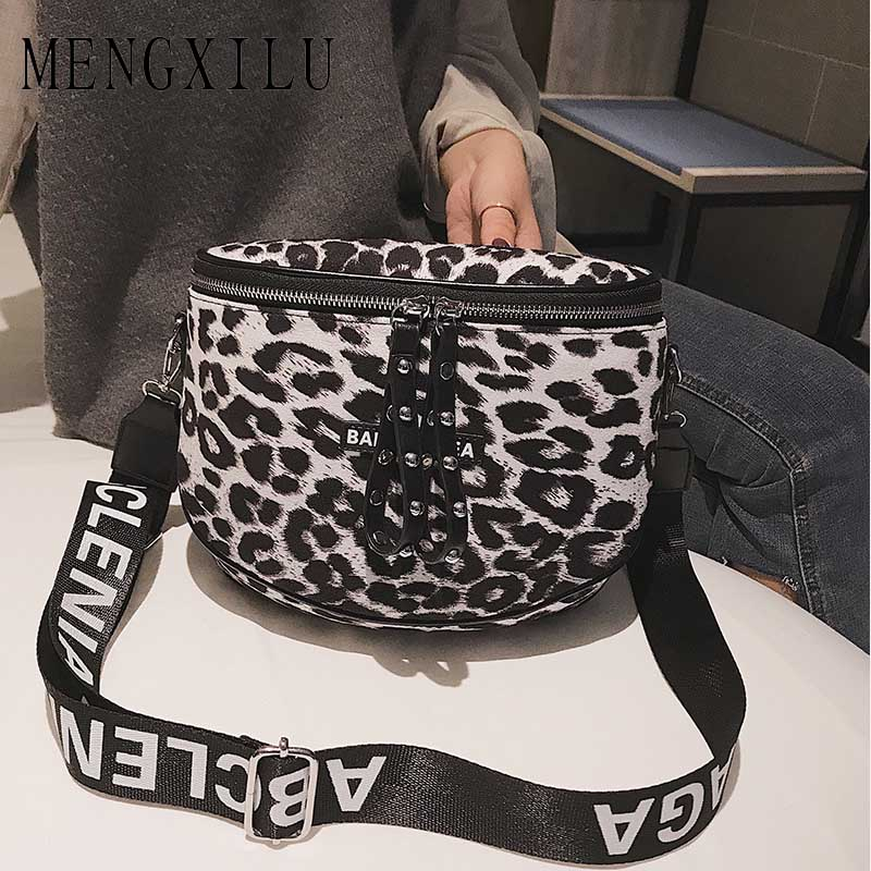 Leopard Print Bucket Woman Bag Pu Leather Crossbody Bags For Women  Messenger Bags Female Shoulder Handbag Crossbody Bags Women-in Shoulder Bags  from Luggage ... dcd5c65553515