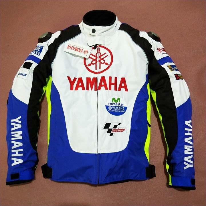 Veste de course de Moto pour YAMAHA amovible doublure en coton Motocross vêtements d'équitation veste avec équipement de protection Moto Jaqueta