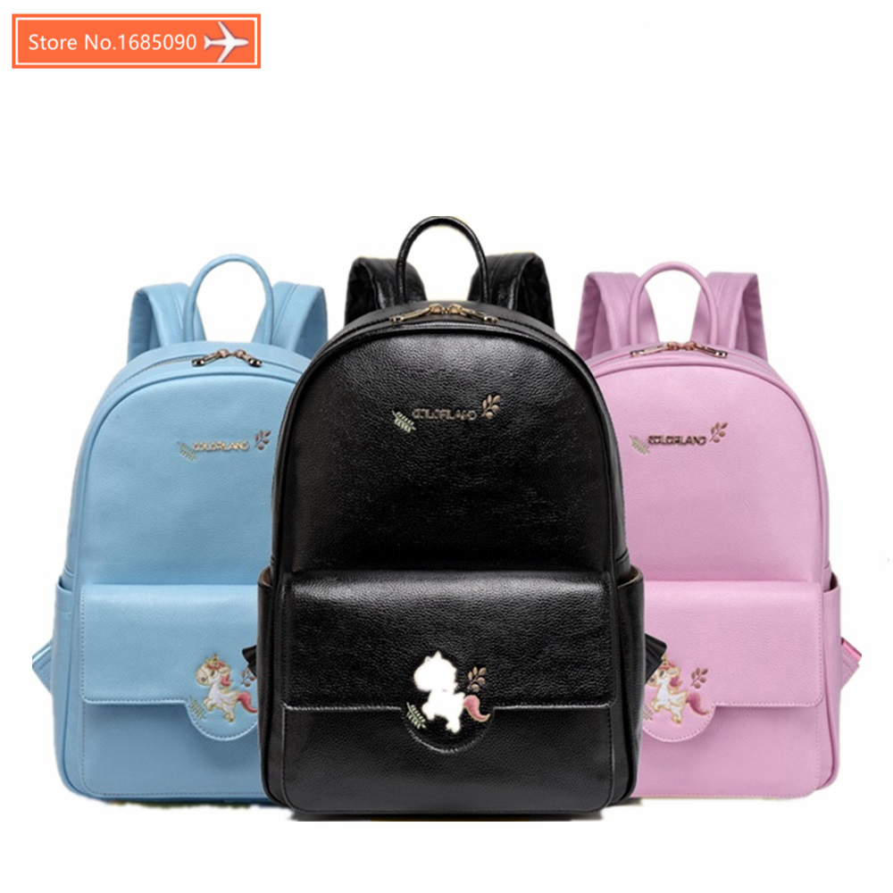 Colorland Pu leather baby travel mummy maternity changing Nappy diaper tote bag backpack baby orgenizer Bags bolsa maternidad baby mom changing diaper tote wet bag for stroller mummy maternity travel nappy bag backpack messenger bags bolsa maternidad page 3