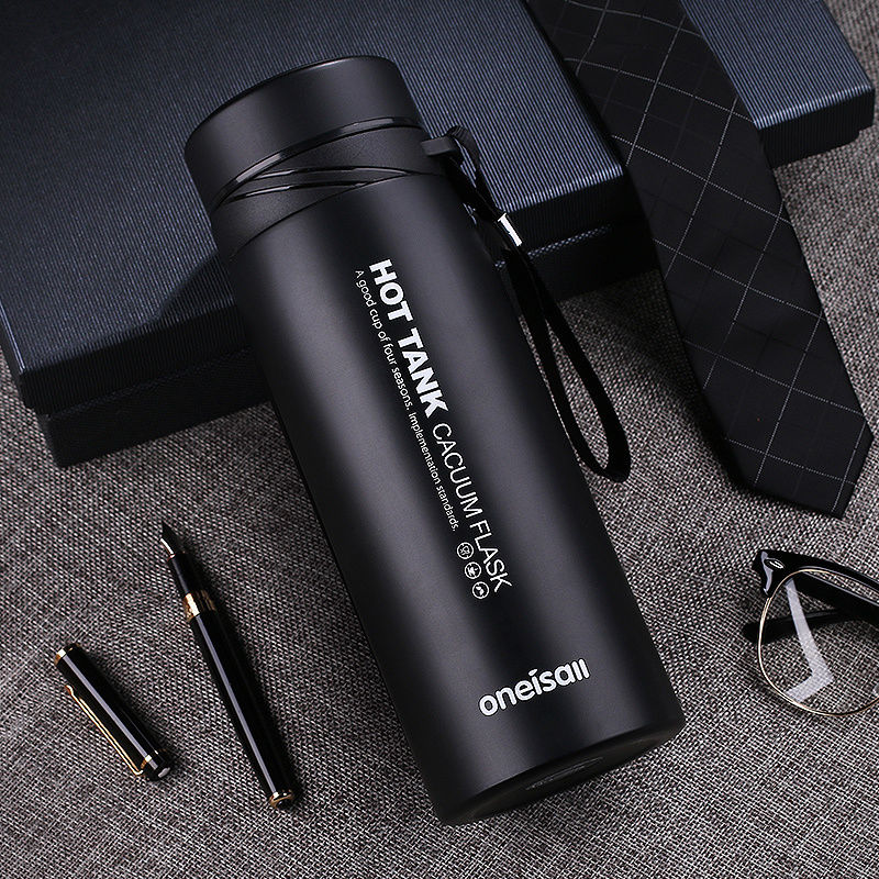 900ml Thermal Cup Vacuum Flask Heat Water Tea Mug Thermos Coffee Mugs Insulated Stainless Steel Vacuum
