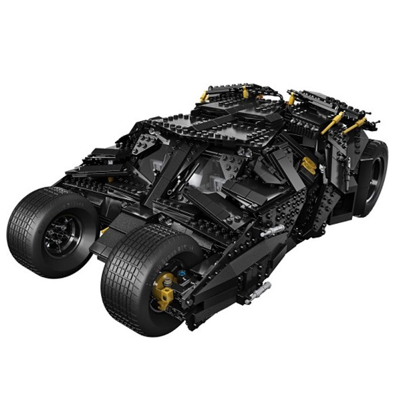 New LELE 34005 Decool 7111 Super Heroes Batman The Tumbler Blocks Bricks New year Gift Toys for children Compatible Bela 76023