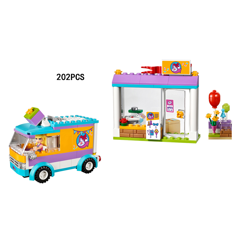 Hot my good friends girls clubs heartlake gifts delivery building block stephanie figure ...
