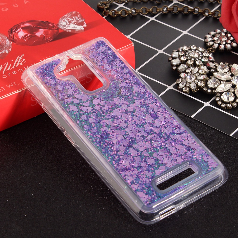 Luxury Dynamic Liquid Glitter soft <font><b>case</b></font> For 5.2