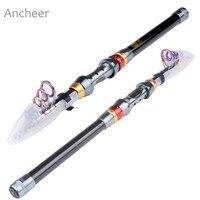 New 3M Fishing Rod Super Light Fishing Pole Portable Carbon Fiber Telescope Fishing Rod Travel Spinning Fishing Pole Strong