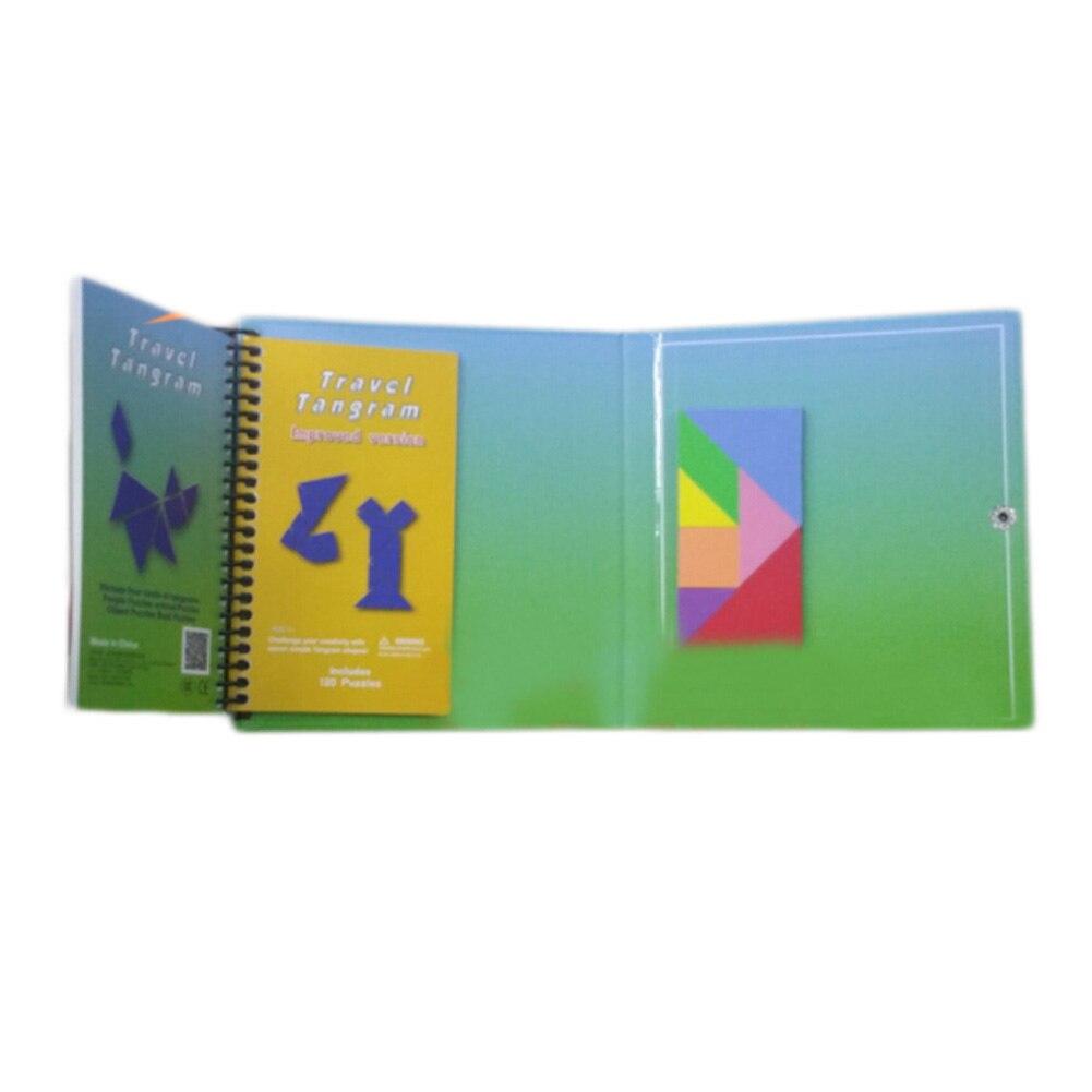 150/240 головоломки Магнитная путешествия образования детей вызов игрушка IQ волшебную книгу для от 3 до 10 лет подарок для Семья
