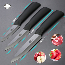 Kitchen Knives Cook Set Ceramic Knives 3″ Paring 4″ Utility 5″