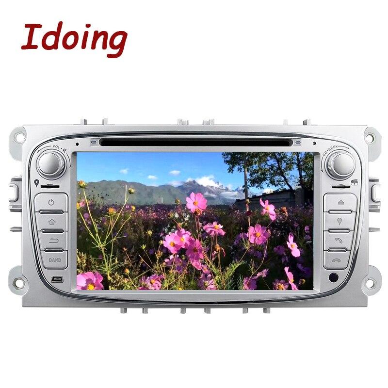 Imaking volant 2Din Android6.0 pour Ford Focus Mondeo s-max 2 GB + 16G lecteur DVD multimédia voiture intégré 3G Dangle Radio TV