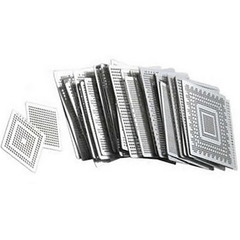 Direct Heat Stencils for ATI graphics Video card IC chips 45pcs