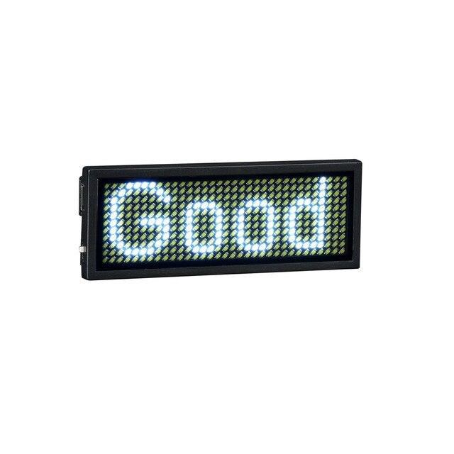 Blanc LED Nom Insigne Carte De Visite Numrique Affichage Tag Rechargeable Programmable Livraison Lecteur