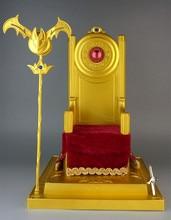 Toyzone سانت سيا القماش أسطورة السابقين الذهب الجوزاء البابا الكراسي الملكية