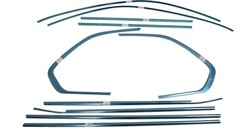Здесь можно купить   For BMW X5 E70 2009 - 2013 Stainless Exterior Window Sill Decoration Lid Trim Accessaories 10pcs Автомобили и Мотоциклы