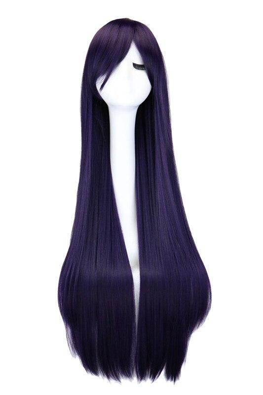 темно-коричневый парик