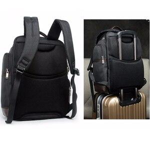 Image 2 - BOPAI marka duża pojemność wiele kieszeni plecak podróżny torba na ramię plecak na laptopa moda męska plecak rozmiar 43*35*20cm