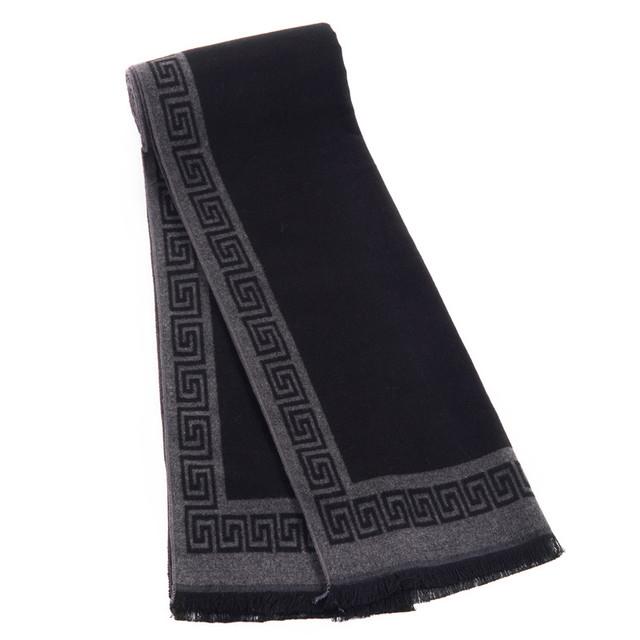 Luxury Brand Дизайнер Шарф Зима Мужчины Бизнес шали шарфы 2016 осень мода wrap мужчины écharpe платки с кистями оптовая