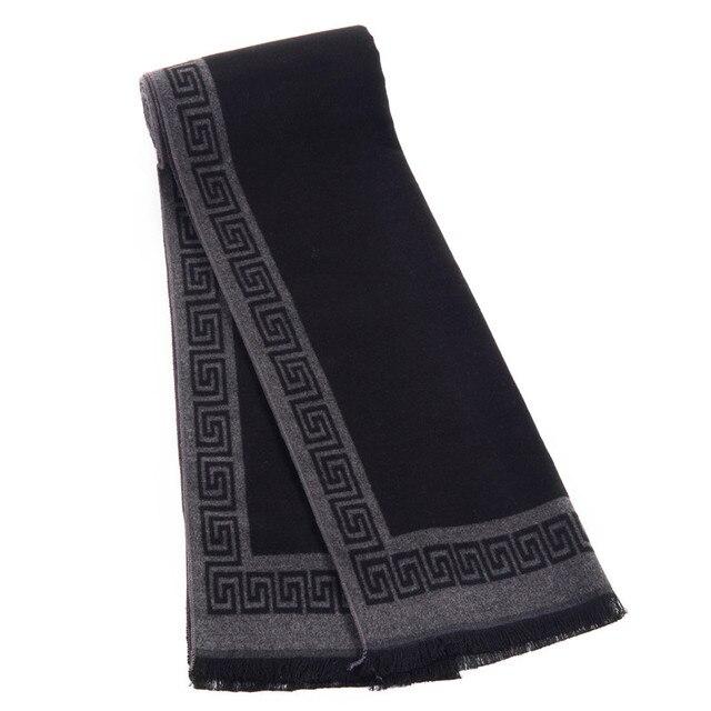 Luxury Brand Designer Scarf Winter Men shawls Business scarves 2016 foulard fall fashion wrap men echarpe with tassels wholesale