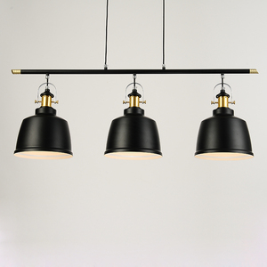 Image 2 - רטרו לופט תעשייתי ברזל תליון תאורת חדר אוכל בציר LED תליון מנורה מודרני תליון אורות/השעיה מקורה
