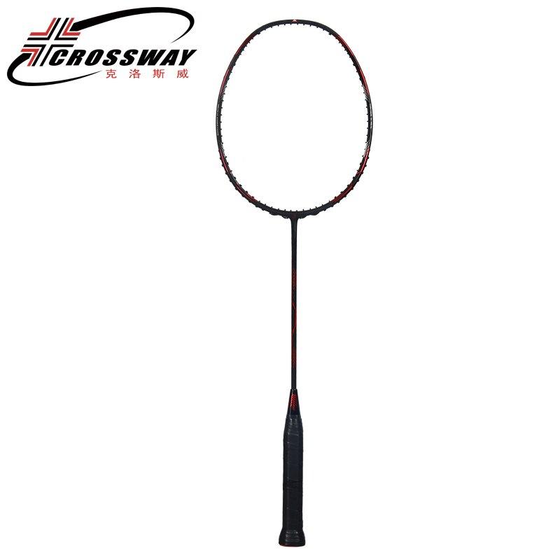 Raquette de badminton en carbone jusqu'à 35 lb 2018 nouvelles raquettes de Badminton Super Force raquette professionnelle