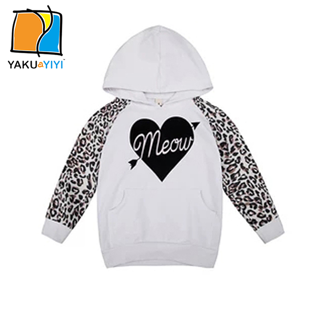 76753763c32c YKYY YAKUYIYI Girls Hooded Sweatshirt Sweet Letter Print Baby Girls ...