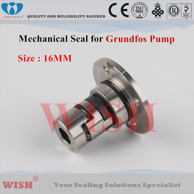 16 MM Grundfos type HO joint mécanique grande plaque