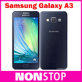 Original Samsung Galaxy A3 Quad-Core Android 4.4 OS 4.5 Inch 1GB RAM 8GB ROM 4G 8.0MP Camera Mobile Phone & Free Shipping