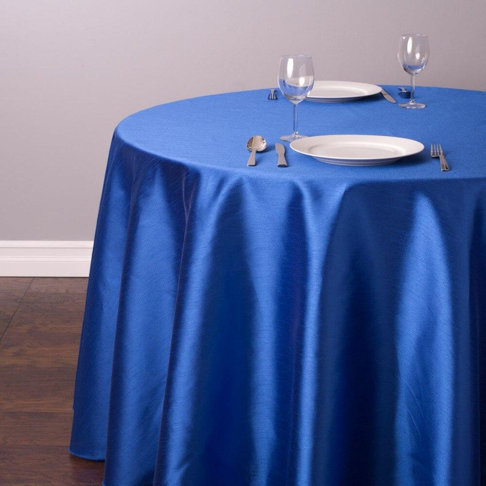 """10 قطع 90 """"/108""""/120 """"جولة الحرير مفرش المائدة الجدول الغطاء ل حفل زفاف عيد الميلاد مطعم مأدبة زينة 21 الألوان-في مفارش المائدة من المنزل والحديقة على  مجموعة 1"""