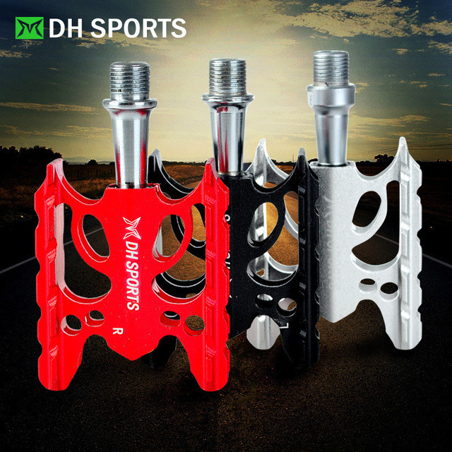3 Color Mountain Bicycle Pedals Lightweight Aluminum CNC