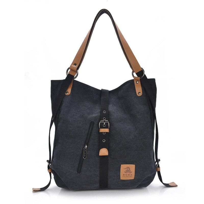 Free Shipping 2016 New Fashion Female Handbag Lady Girls Casual Canvas Handbag Shoulder Bag Multifunctional Women Messenger Bag