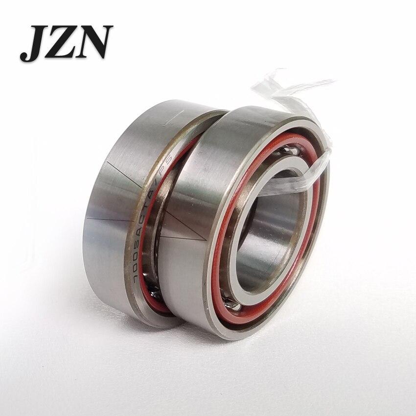 7200 7201 7202 7203 7204 7205 7206 7207 7208 Ângulo de contato do rolamento de esferas de Precisão ABEC-5 P5 Máquina de rolamento ferramenta