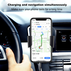 Image 5 - FDGAO Qi Car Wireless Charger for iPhone 8 X XR XS Max 11 Pro Samsung S10 S9 S8 Note 10 9 8 10W Fast Charging Mount Phone Holder