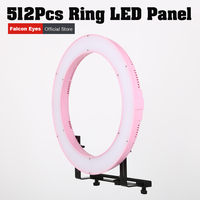 Ring lamp Photography Lighting Led Light Panel Video Film Continuous W/camera Bracket/ Filter Falconeyes