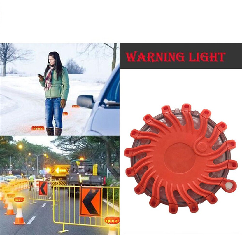 Auto Universal Portable LED Flash Traffic Warning Light Super Bright Crush Resistance