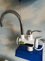 European Spring Loaded Kitchen Sink Stainless Steel Faucet And Mixers Factory Instant Hot Water Tap Electric