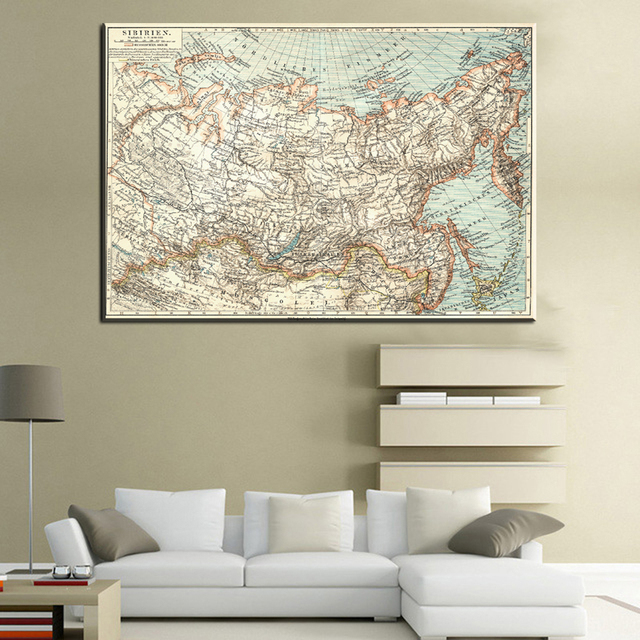 Xll193 vintage retro map poster prints wall art world map antique xll193 vintage retro map poster prints wall art world map antique poster wall sticker home decor gumiabroncs Gallery